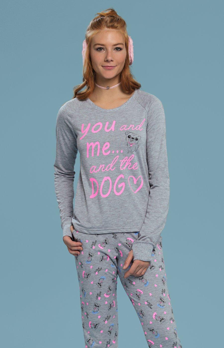 Pijama Moletinho Silly Dog PROMO Inverno 2018