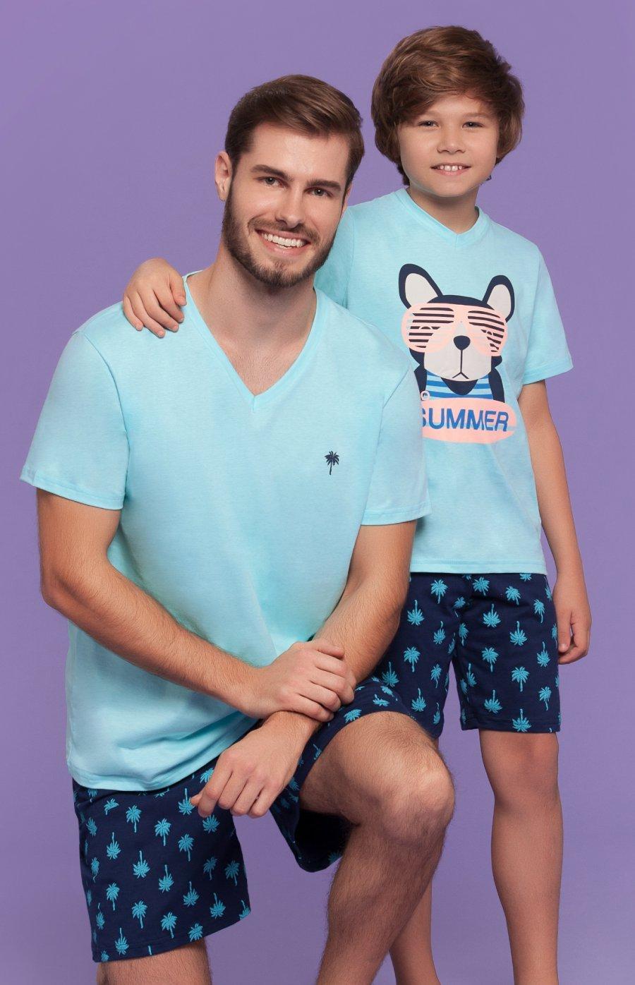 Pijama Infantil 100% Algodão Paradise Verão 2018