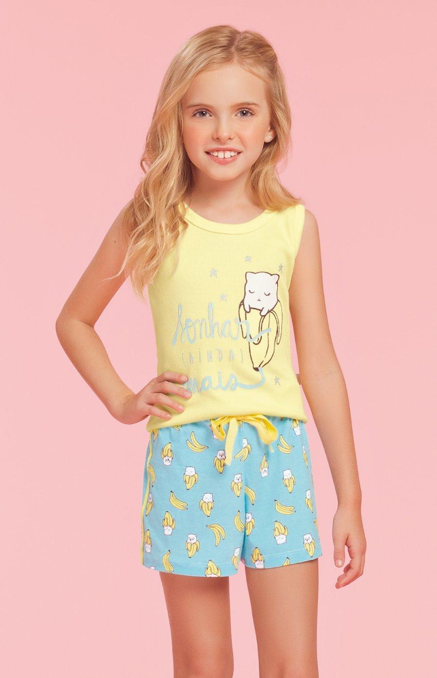 Pijama Infantil Bananas Verão 2019
