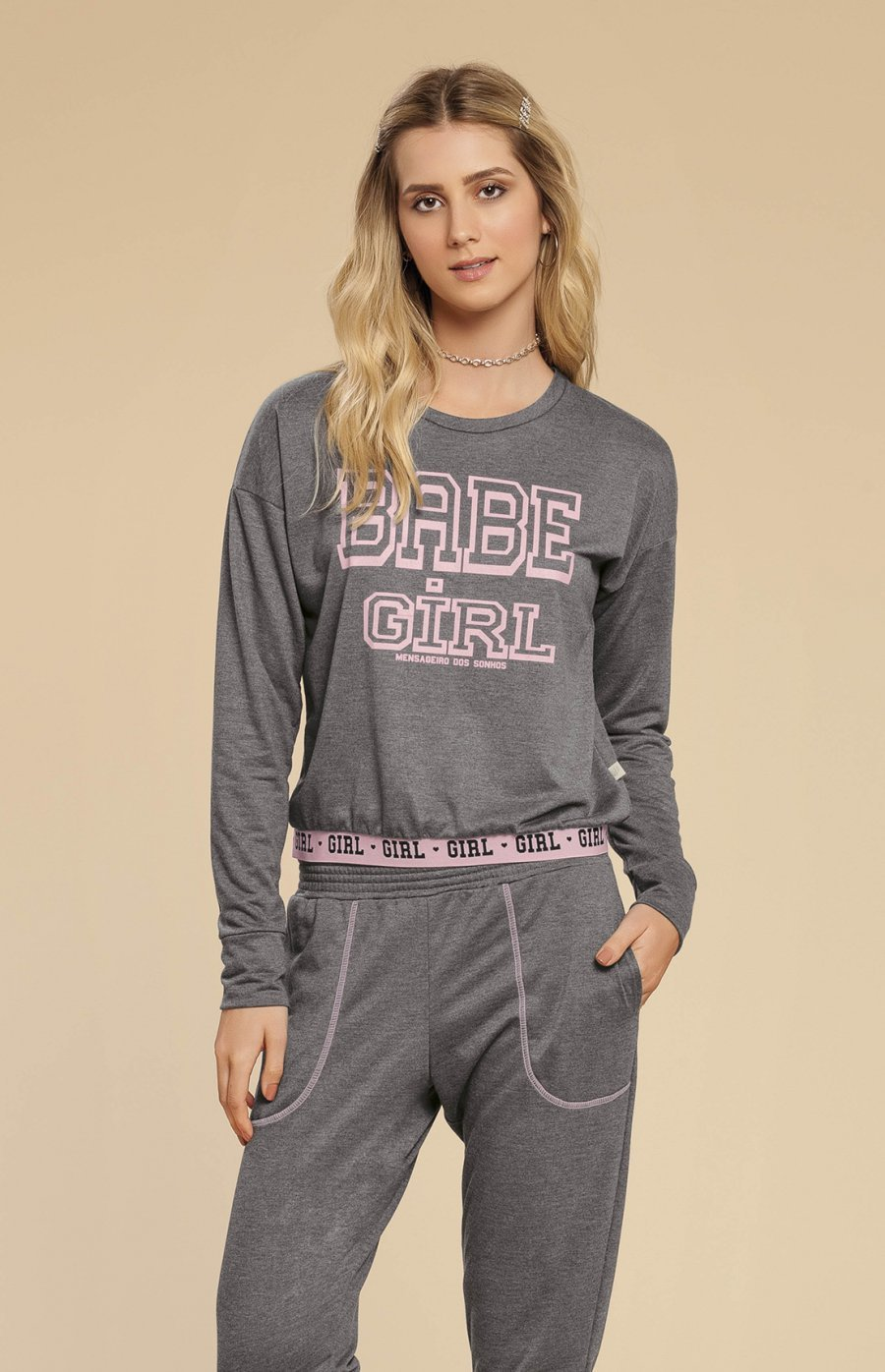 Pijama College Inverno 2019 CLOUD CLUB