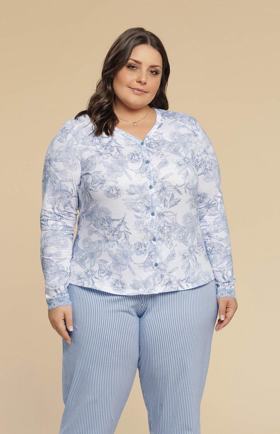 Pijama Plus Size 100% Algodão Botânica Inverno 2019 CLOUD CLUB