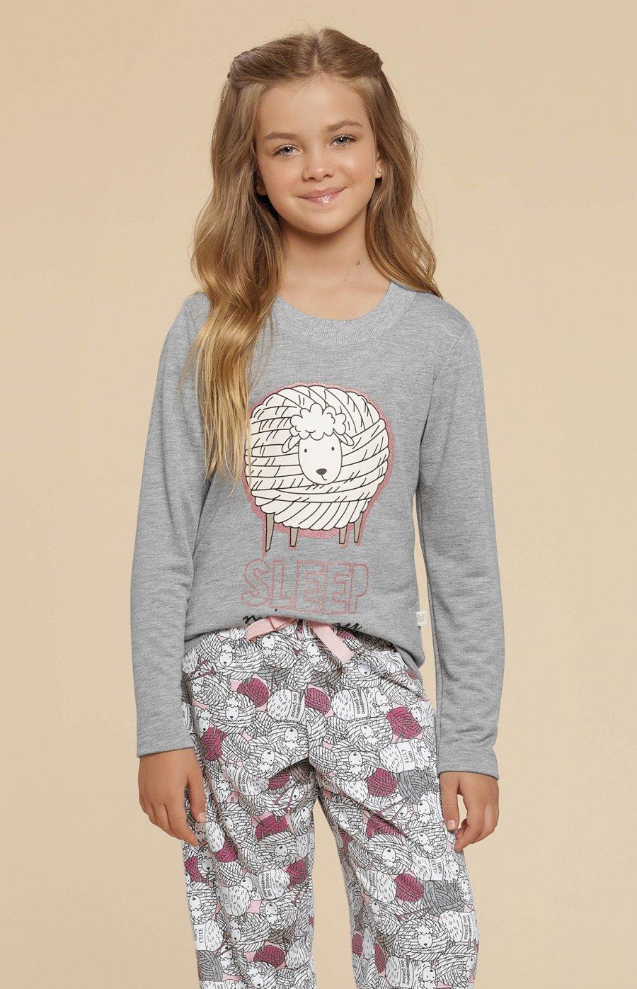 Pijama Infantil Cute Sheep Inverno 2019 - Pré-Venda CLOUD CLUB