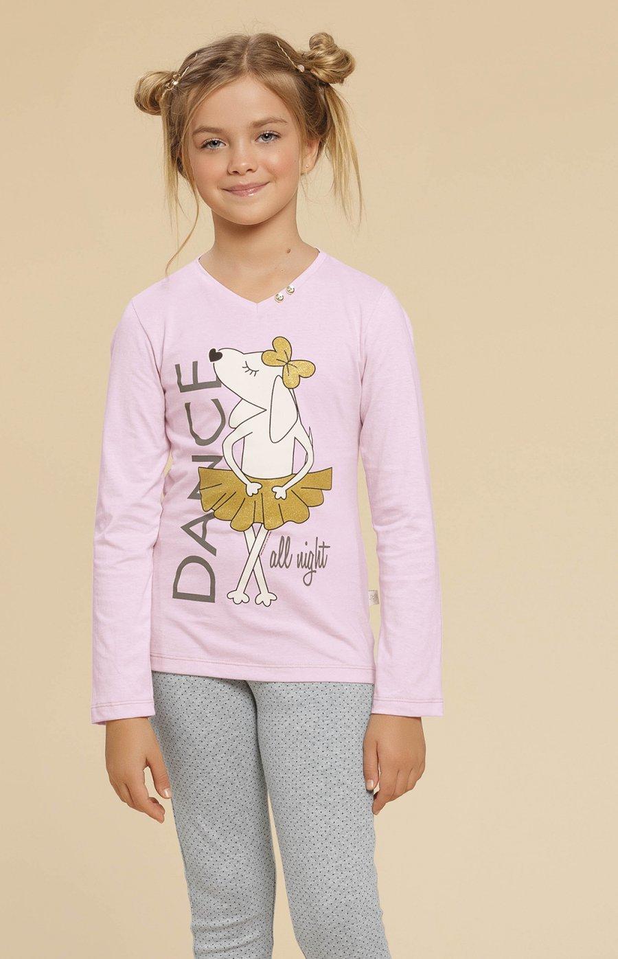 Pijama Infantil Legging Dog Ballet Inverno 2019 - Pré-Venda CLOUD CLUB