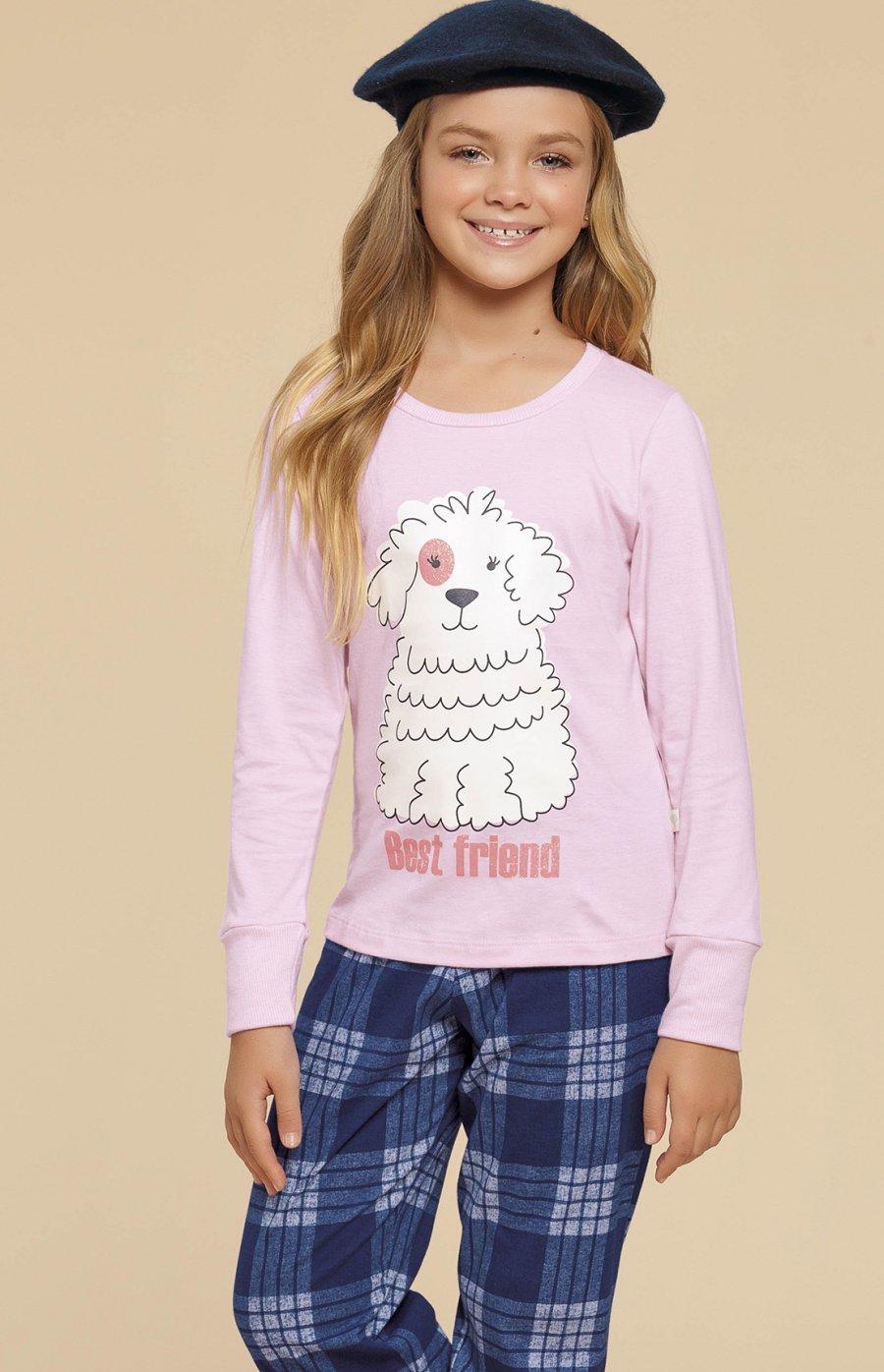 Pijama Infantil 100% Algodão Family Dog Inverno 2019 CLOUD CLUB