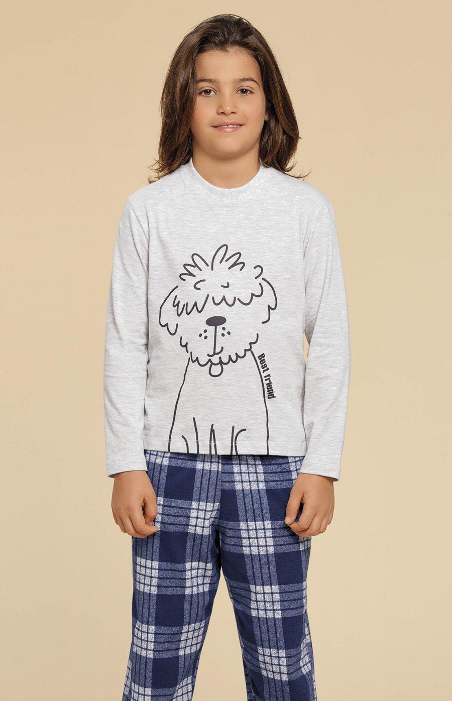 Pijama Infantil Meia Malha Family Dog Inverno 2019 CLOUD CLUB