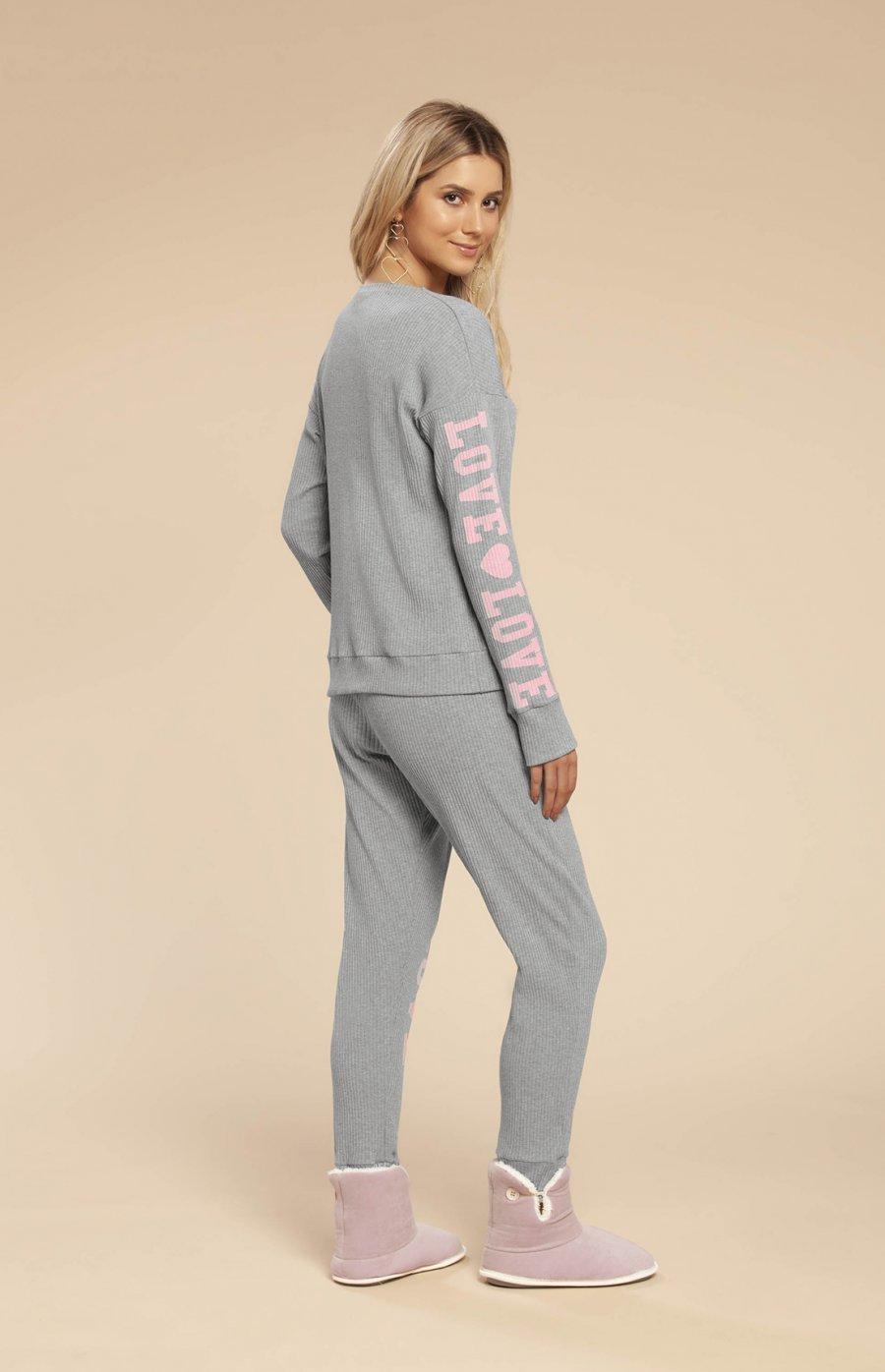 Pijama Ribana Love Yourself Inverno 2019 CLOUD CLUB
