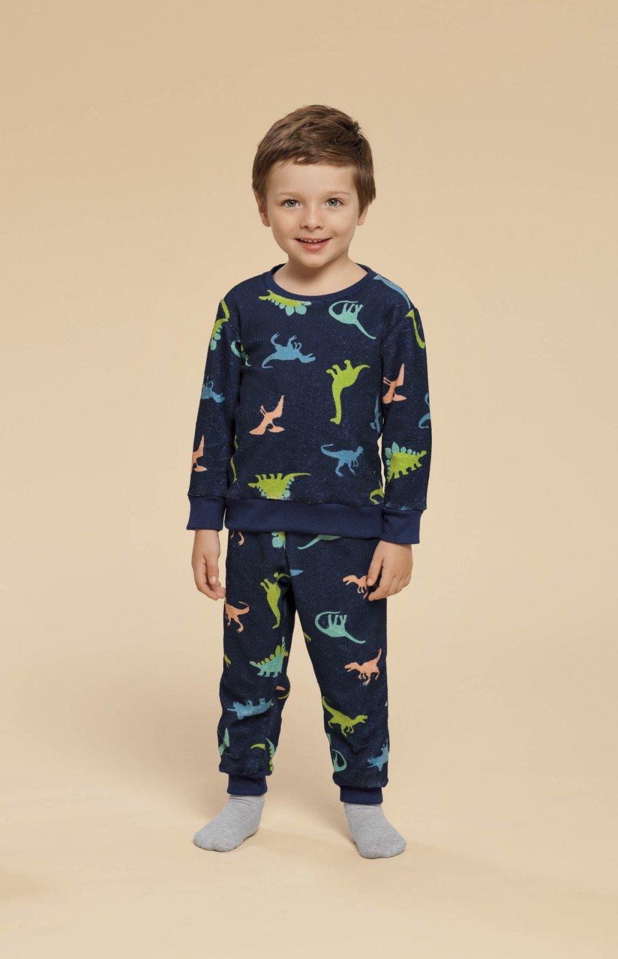 Pijama Baby Soft Dino Inverno 2019 PROMO