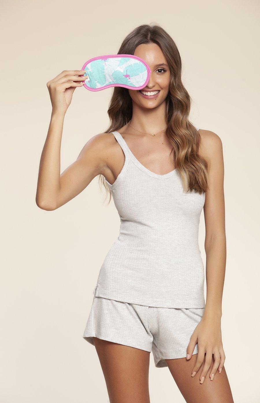Máscara de Dormir Flamingo Verão 2020 MIAMI DREAMS