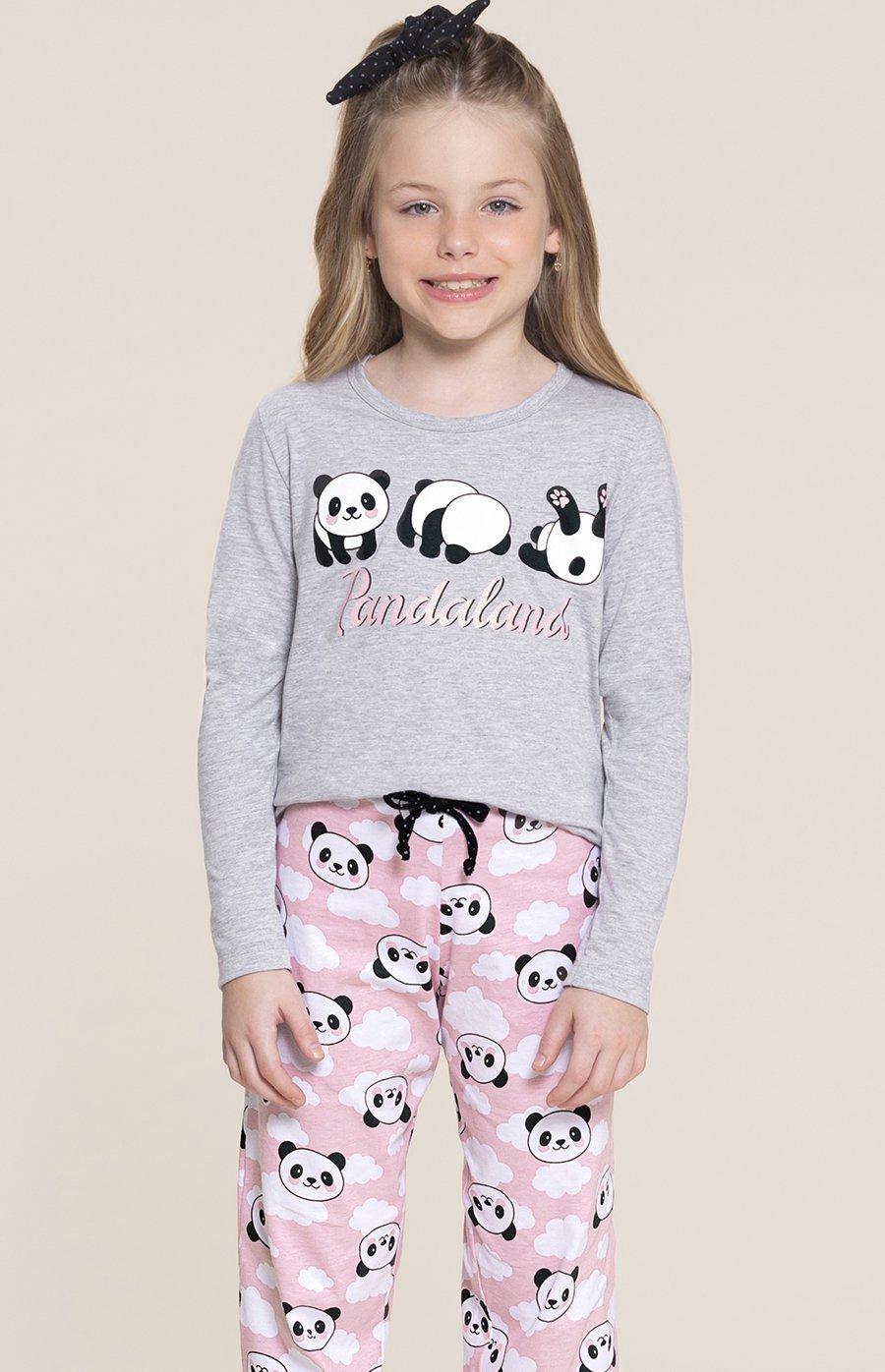 Pijama Infantil 1/2 Malha Fun Inverno 2020 SWEET STORIES