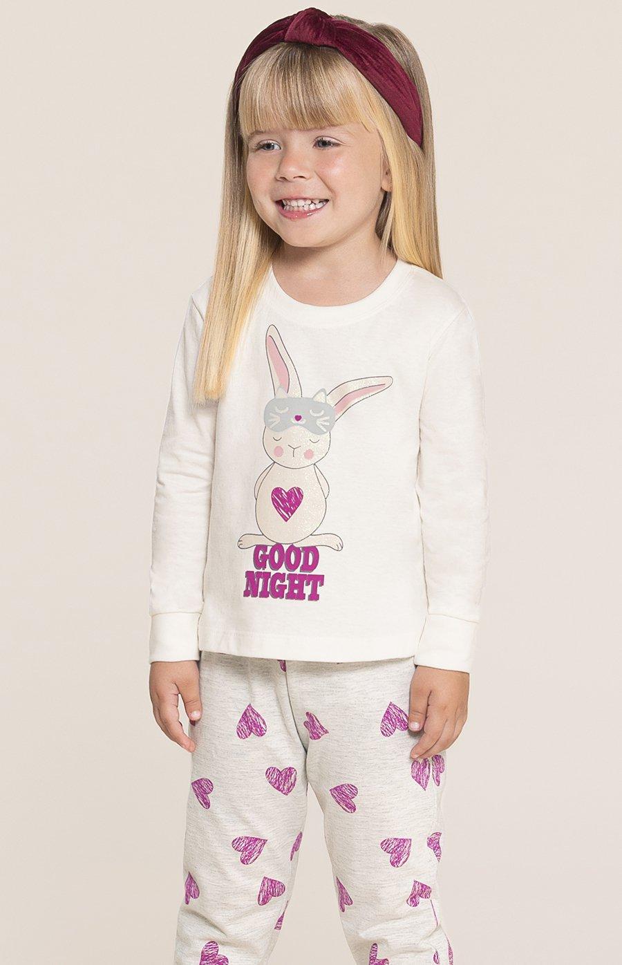 Pijama Baby 1/2 Malha Good Night Inverno 2020 SWEET STORIES