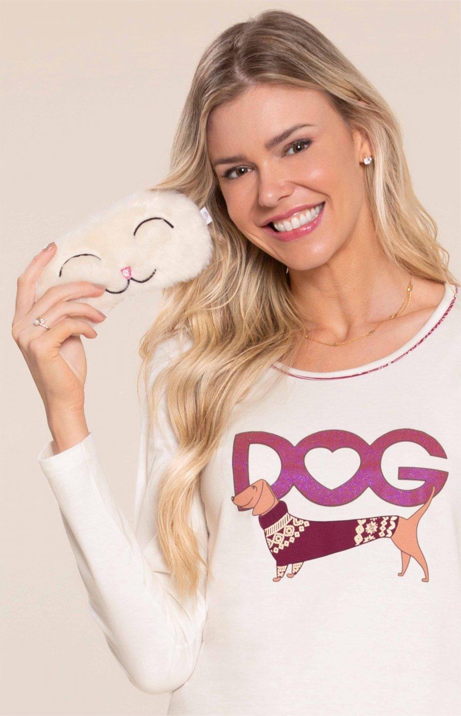 PROMO DE ACESSÓRIOS Máscara de Dormir Little Dog Inverno 2020 SWEET STORIES