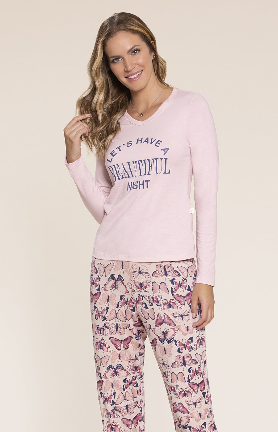 Pijama Viscolycra Encanto Inverno 2020 SWEET STORIES