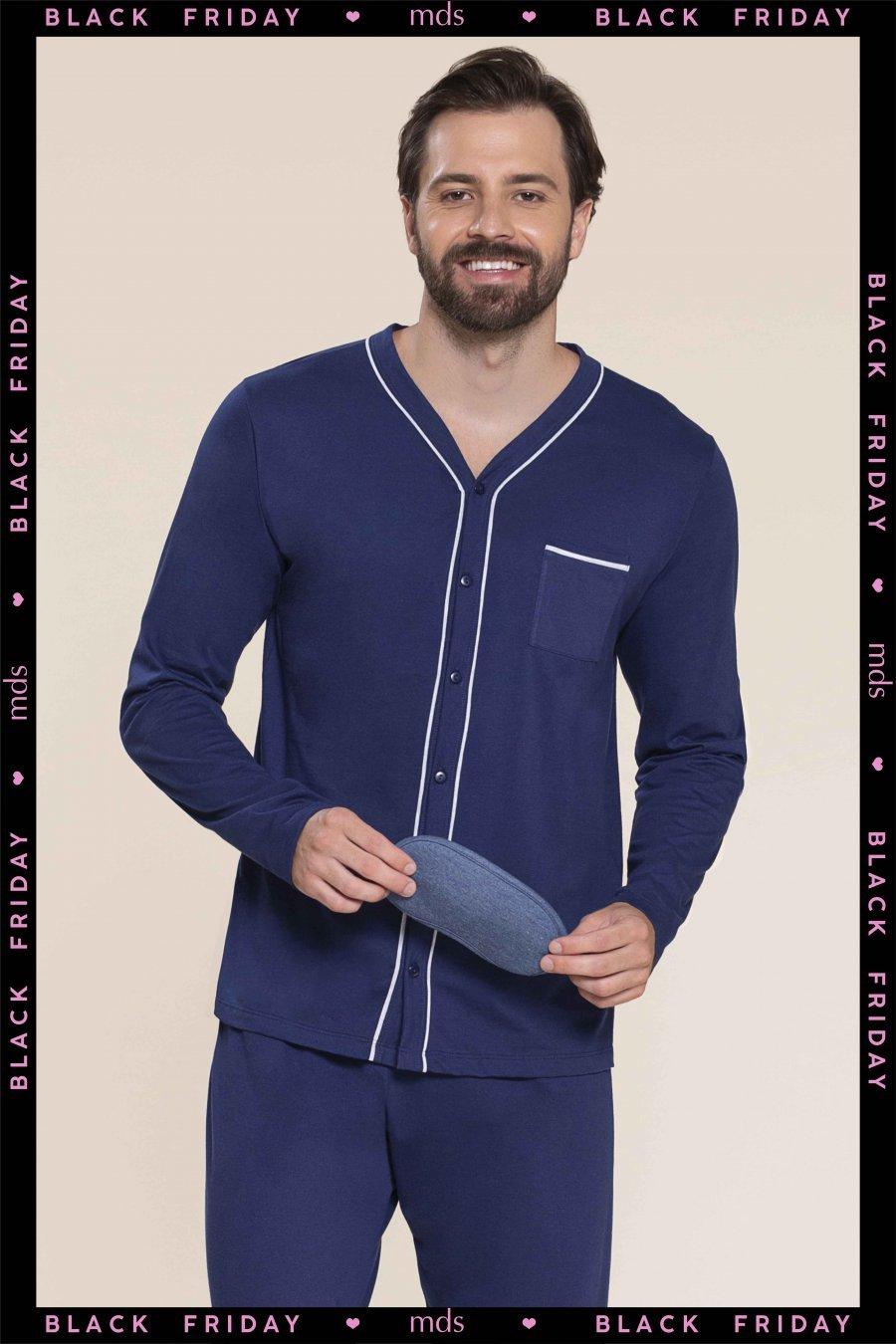 BLACK FRIDAY Pijama 100% Algodão Strong Inverno MDS