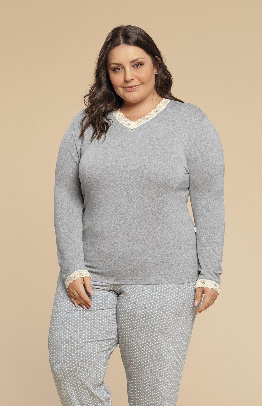 Pijama Plus Size Viscolycra Inverno MdS