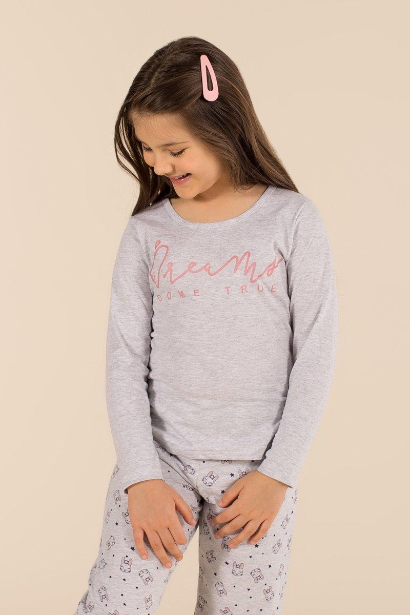 Pijama Infantil 1/2 Malha Dreams Happy Moments Verão 2021