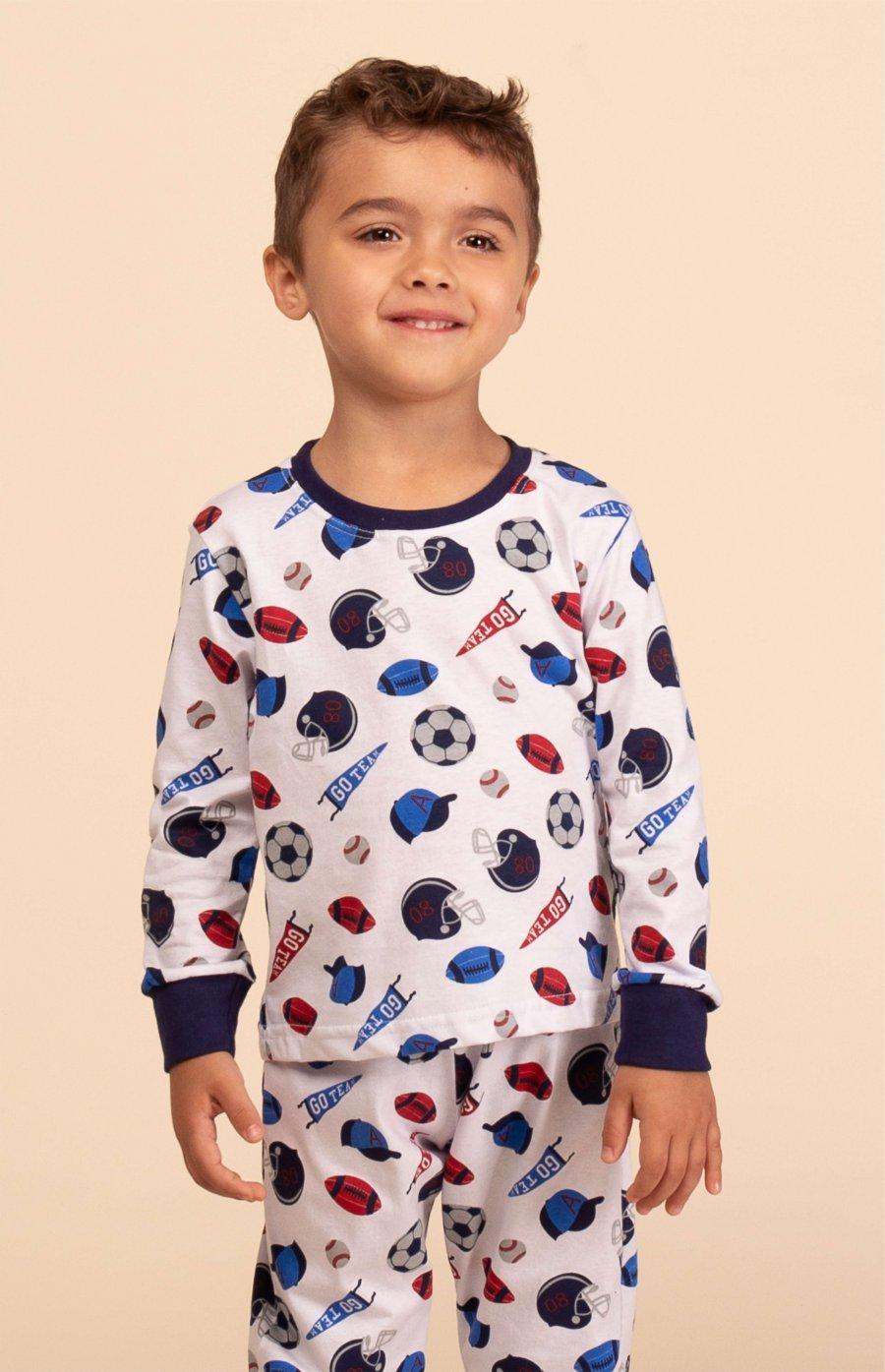 Pijama Baby 100% Algodão Inverno MDS