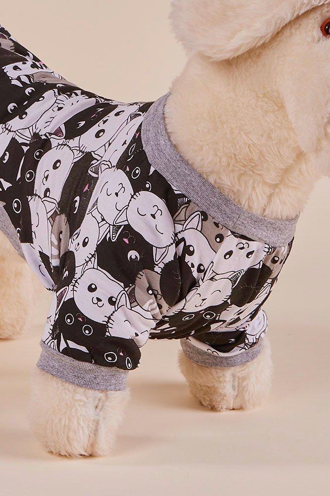 OUTLET Pijama Pet Cats MDS