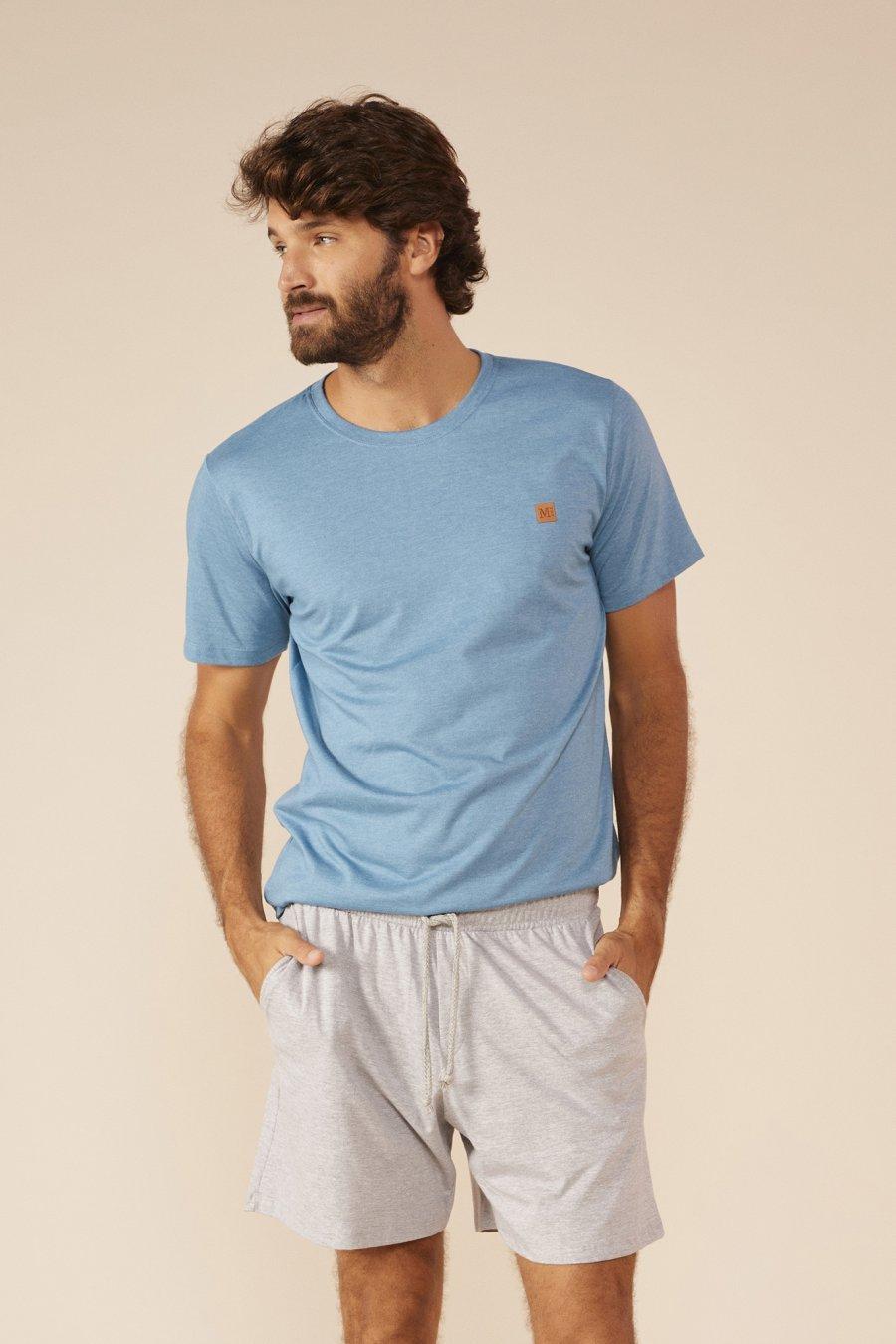 Pijama 1/2 Malha Comfort Verão MDS