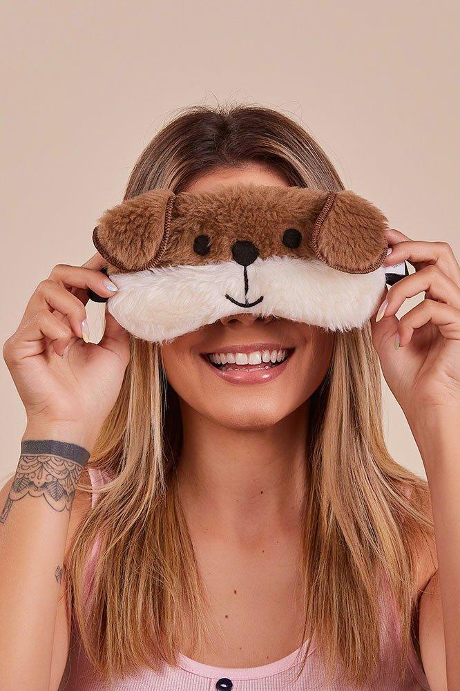 Máscara de Dormir Dog Happy Moments Verão
