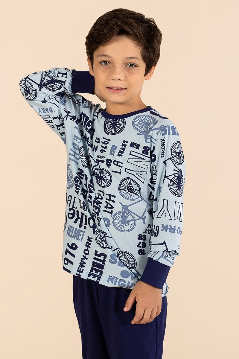 LANÇAMENTO Pijama Infantil 100% Algodão Boy A Princesa Moderna Inverno 21 MDS