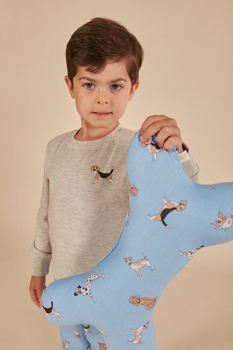 Pijama Infantil 1/2 Malha Pets A Princesa Moderna Inverno MDS