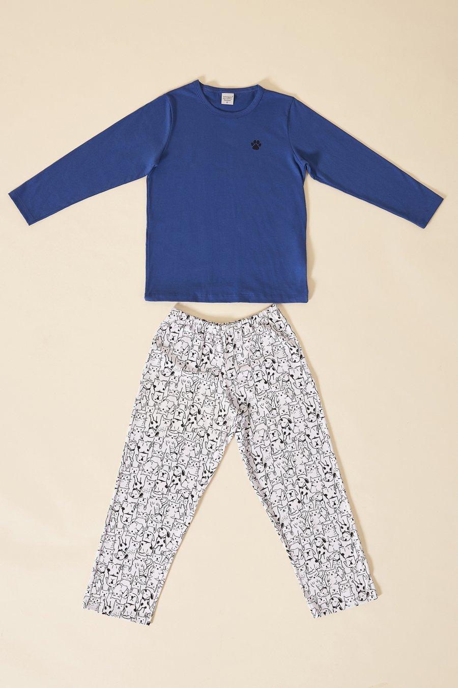 LANÇAMENTO Pijama Infantil 1/2 Malha Rock Mensageira da Paz Inverno 21