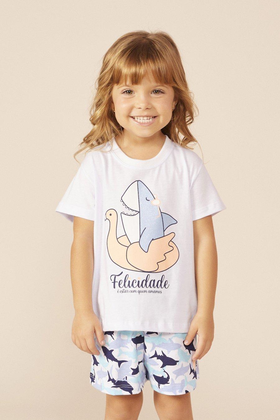 LANÇAMENTO Pijama Baby 100% Algodão Felicidade Mundo dos Sonhos Primavera Verão 22 MDS