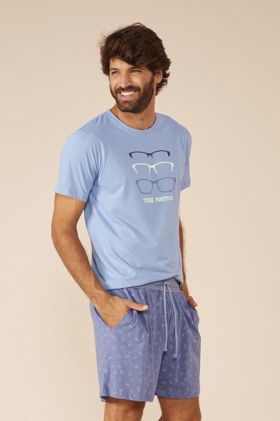 LANÇAMENTO Pijama Teen 100% Algodão Think Positive Mundo dos Sonhos Primavera Verão 22 MDS