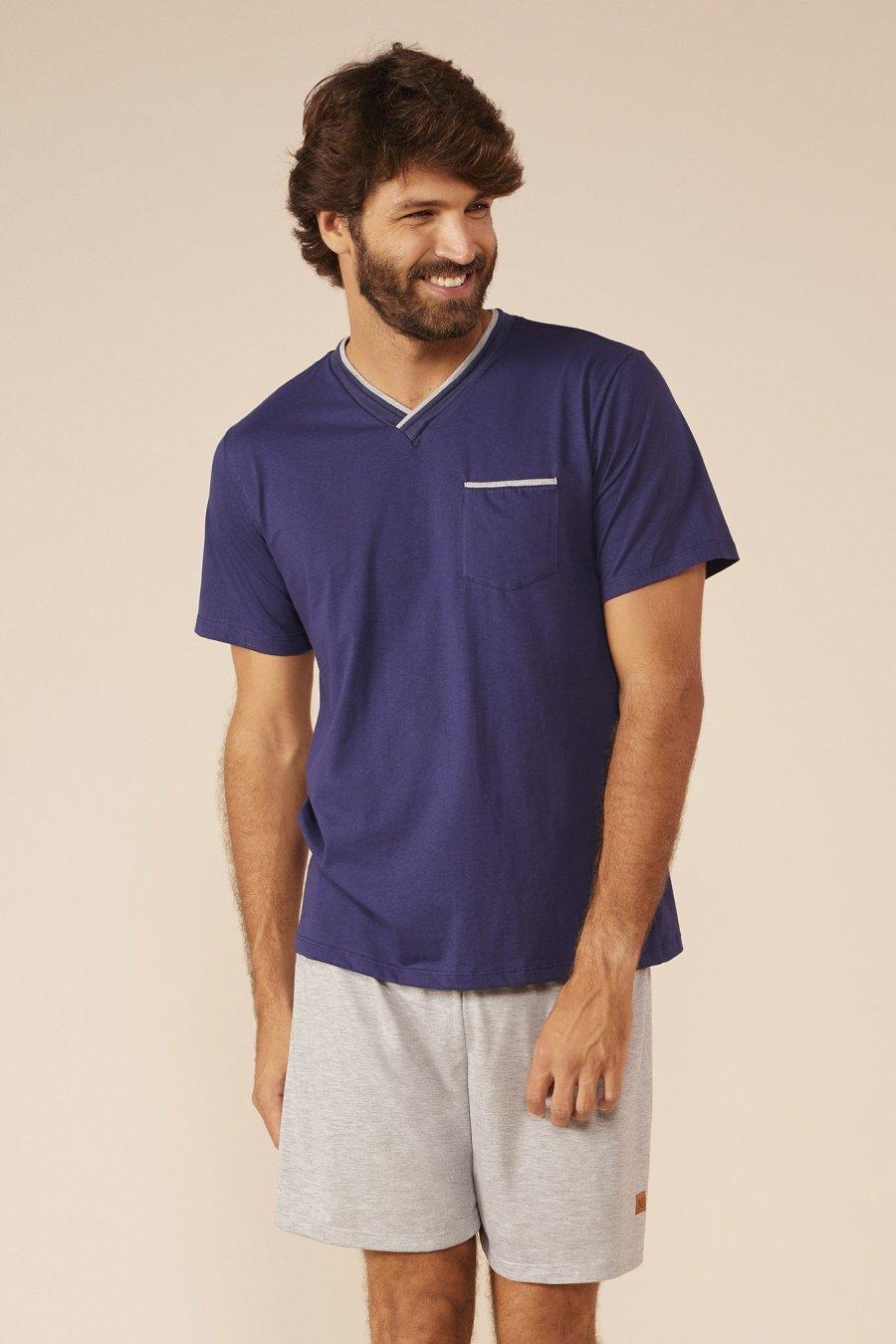 LANÇAMENTO Pijama Plus Size 1/2 Malha Clássico Mundo dos Sonhos Primavera Verão 22 MDS