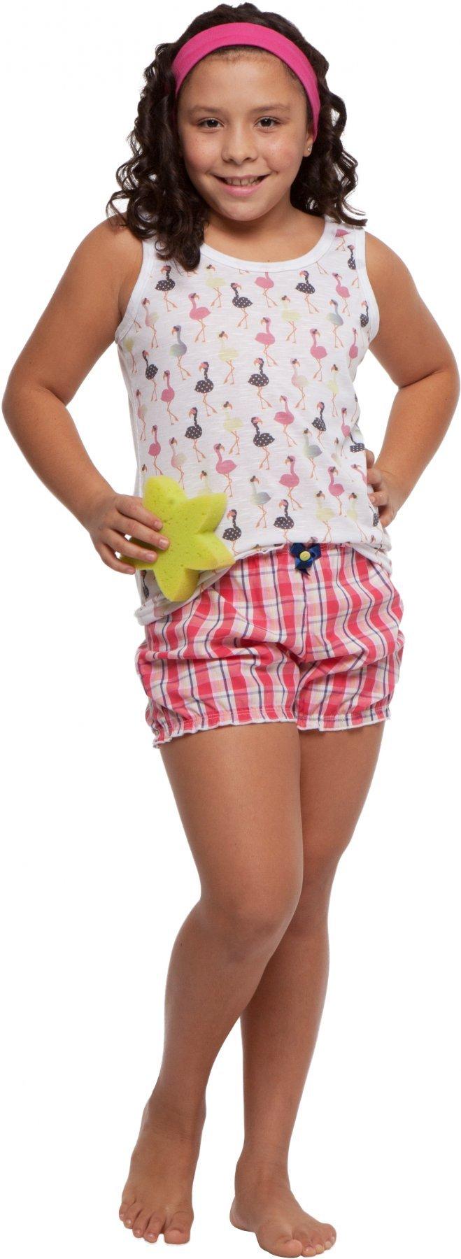 Short Doll Infantil Flamingo Promoção