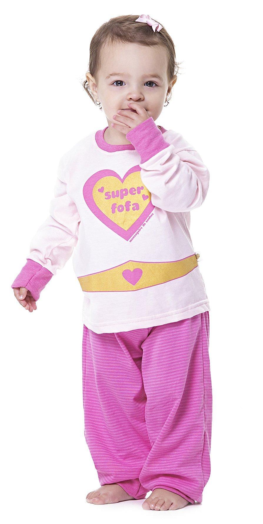 Pijama Infantil Baby Meninas