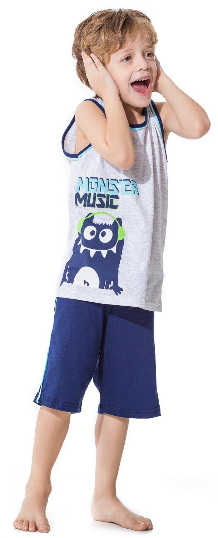 Pijama Infantil Masculino Monster