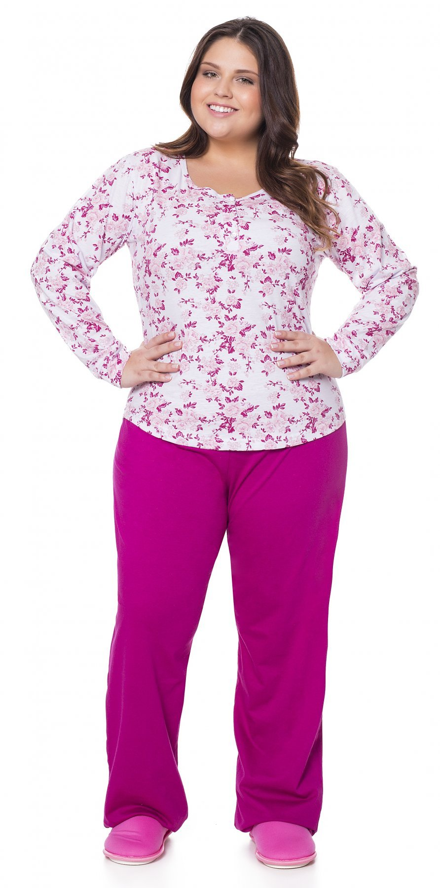 34be1d7f5 Pijama Longo Dream (Plus Size) | Mensageiro dos Sonhos