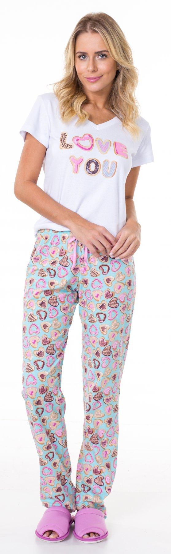 Pijama Longo Doce Amor Promoção
