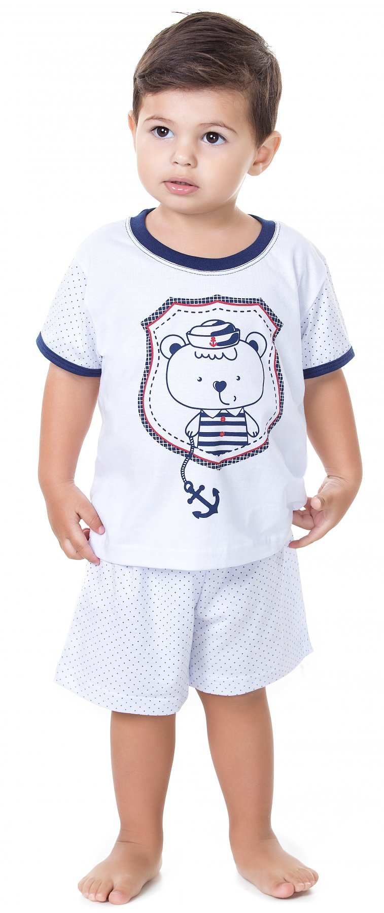 Pijama Baby 100% Algodão Verão 2017