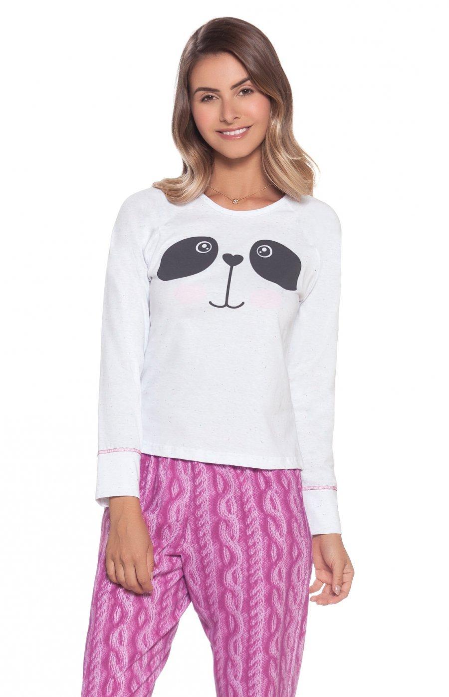 Pijama Juvenil Panda Princess Inverno
