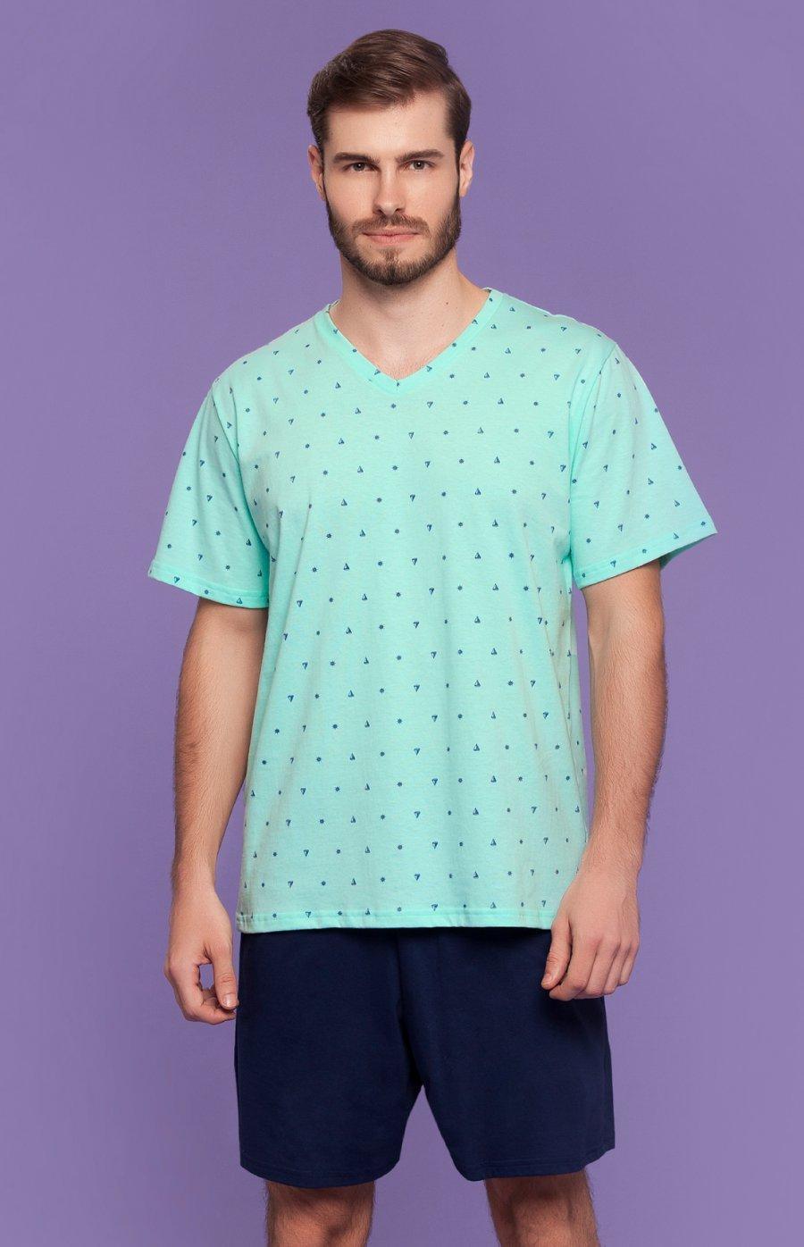 Pijama Masculino Eu Quero Praia Verão 2018