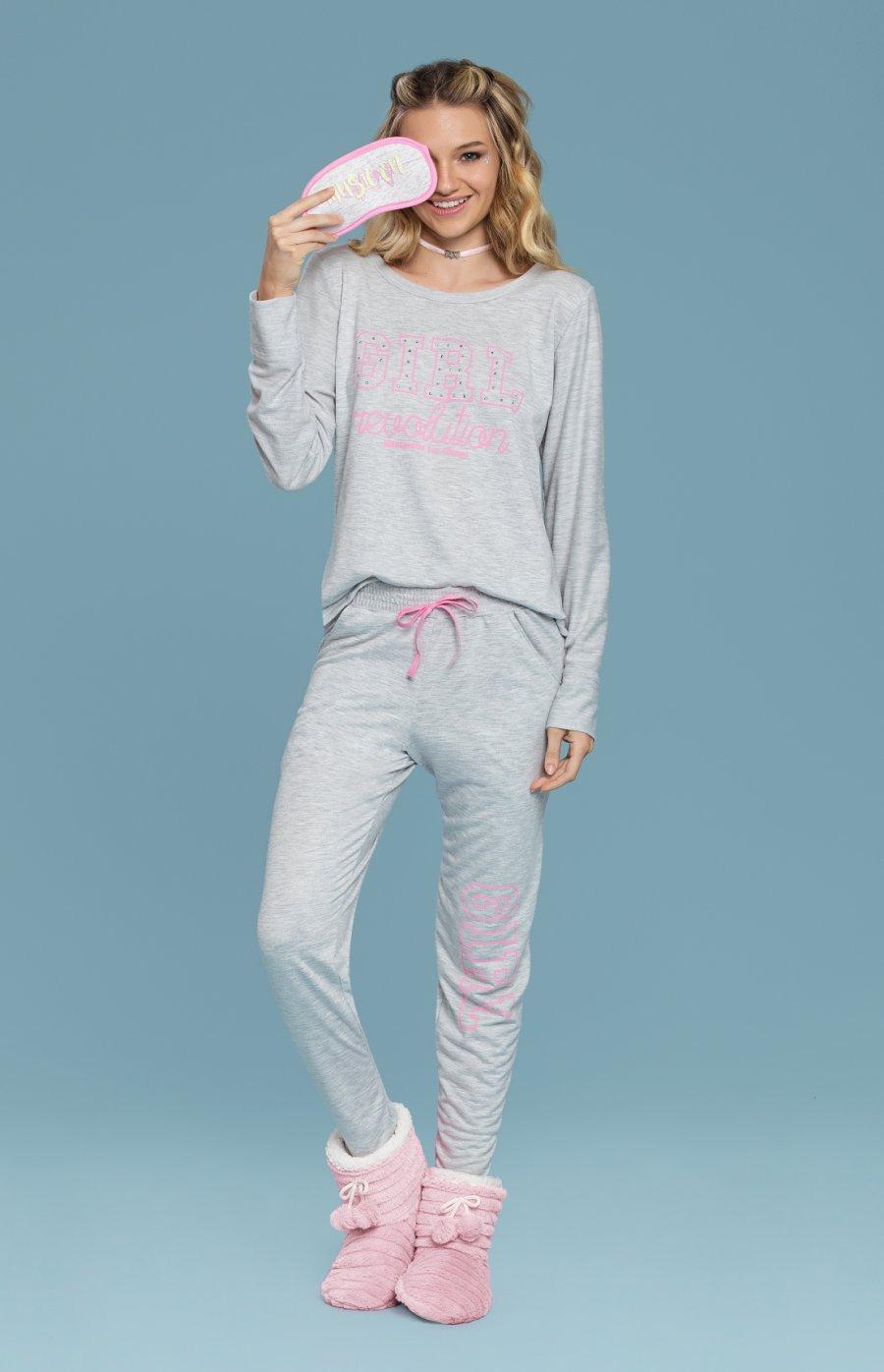 017ef4503 Pijama Girls PROMO Inverno