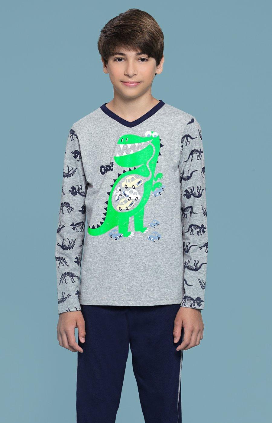 Pijama Infantil Dino PROMO Inverno 2018
