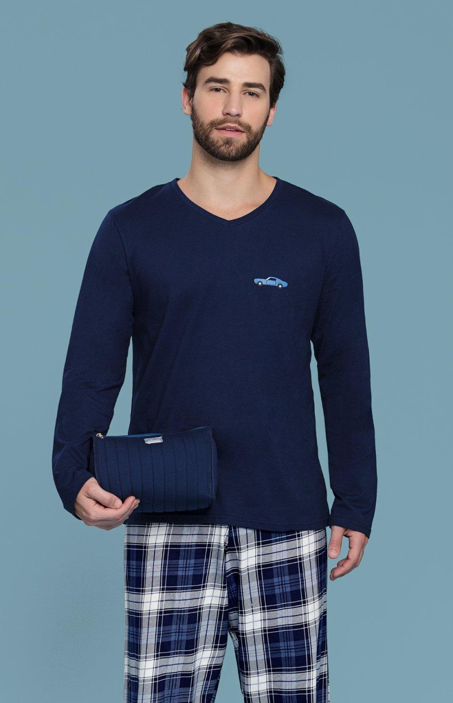 Pijama Juvenil 100% Algodão Sky Inverno PROMO