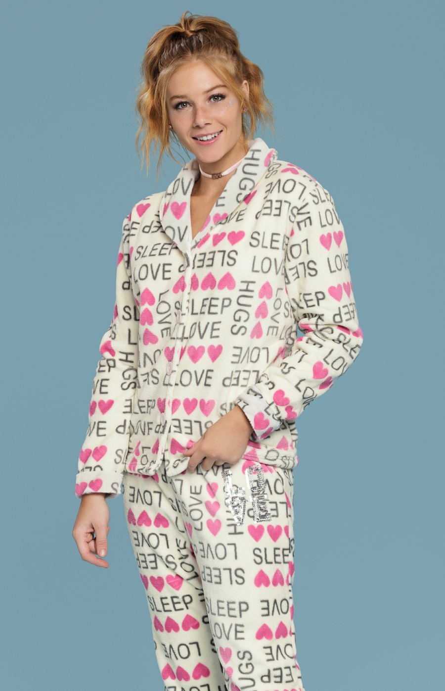 Pijama Soft Sleep Inverno 2018
