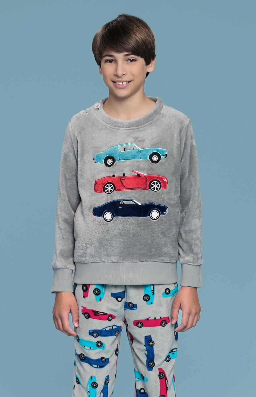 Pijama Soft Carros Inverno 2018