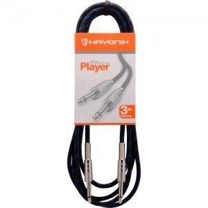 CABO HAYONIK PLAYER 3 METROS P10/P10 TEXTIL