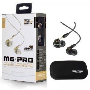 Fone De Ouvido Mee Audio M6 Pro Black