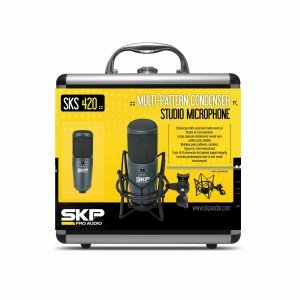 MICROFONE SKP SKS-420 CONDENSADOR P/ ESTUDIO