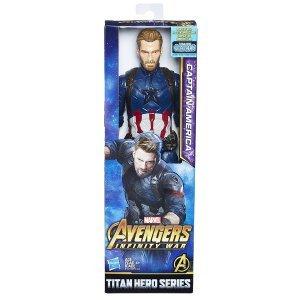 Boneco Vingadores Guerra Infinita Capitão América E1421 - Hasbro 84fe50eb875