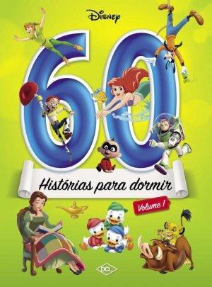 Livro 60 Histórias p/ Dormir Volume 1 Disney 1150410 - DCL