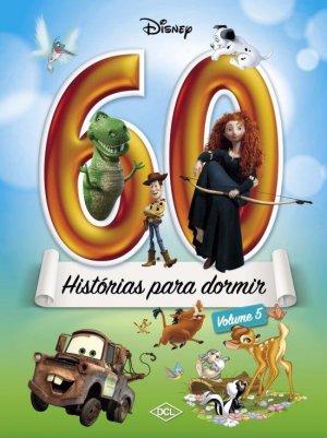 Livro 60 Histórias p/ Dormir Volume 5 Disney 1164214 - DCL