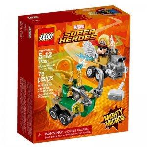 Lego Super Heroes Mighty Micros - Thor Vs Loki 76091 - Lego