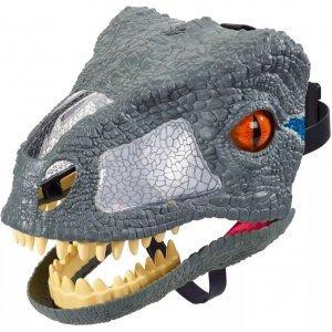 Máscara Eletrônica Raptor Blue Jurassic World FMB74 - Mattel